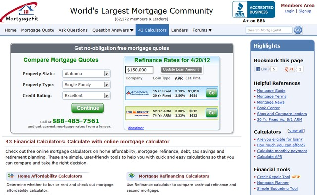 Free Mortgage Quotes